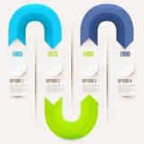 Élément moderne d'infographics Photo libre de droits