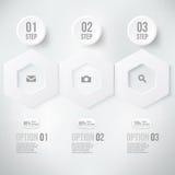 Élément moderne d'infographics Photos libres de droits