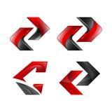 Élément moderne de logo de conception d'icône Meilleur pour l'identité et les logotypes illustration stock