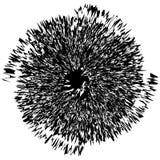 Élément radial géométrique Géométrique concentrique et radial abstrait photographie stock