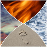 4 éléments Images stock