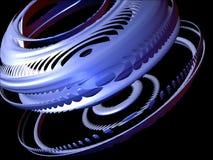 Éléments abstraits 3D, positionnement I, groupe 3 de conception Images libres de droits