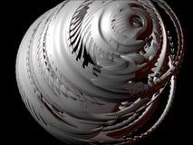 Éléments abstraits 3D, positionnement I, groupe 4 de conception Photo stock