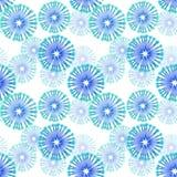 Éléments abstraits bleus Photographie stock