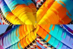 Éléments abstraits de cerf-volant pour le fond photographie stock