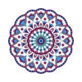 Éléments abstraits de conception Mandalas ronds dans le vecteur Calibre graphique pour votre conception Rétro ornement décoratif illustration libre de droits