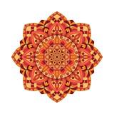 Éléments abstraits de conception Mandalas ronds dans le vecteur Calibre graphique pour votre conception Rétro ornement décoratif illustration de vecteur