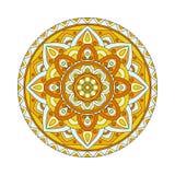 Éléments abstraits de conception Mandalas ronds dans le vecteur Calibre graphique pour votre conception Rétro ornement décoratif illustration stock
