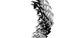 Éléments abstraits de tourbillonnement Image libre de droits