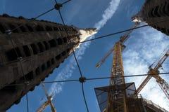 Éléments architecturaux de Sagrada Familia Images libres de droits
