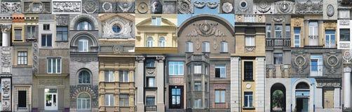 Éléments architecturaux de vintage de papier peint Image libre de droits