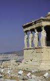Éléments architecturaux grecs Photo libre de droits