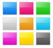 Éléments carrés de conception Illustration Libre de Droits