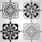 Éléments celtiques de conception de vecteur Photo libre de droits