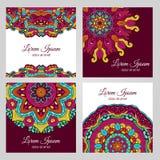 Éléments colorés de conception florale Photographie stock libre de droits