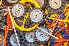 Éléments colorés de connexion Images stock