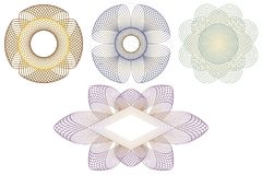 Éléments décoratifs. illustration libre de droits