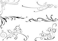 Éléments décoratifs. Images stock