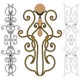 Éléments décoratifs Image stock
