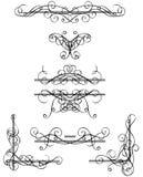 Éléments décoratifs Images stock