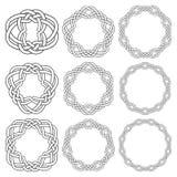 Éléments décoratifs circulaires pour la conception Photo stock