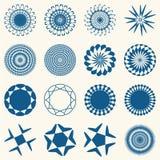 Éléments décoratifs de conception Image libre de droits