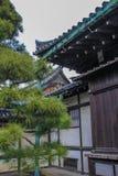 Éléments décoratifs de façade de palais de Ninomaru photo libre de droits