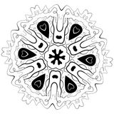 Éléments décoratifs de Mandala Ethnic illustration libre de droits