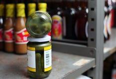 Éléments d'épiceries Image libre de droits