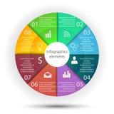 Éléments d'affaires d'Infographics Photo stock