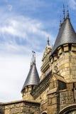 Éléments d'architecture dans le style gothique Image libre de droits