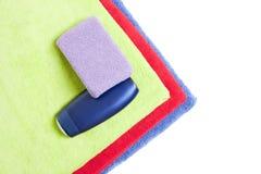 Éléments d'hygiène personnelle Photographie stock libre de droits