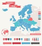 Éléments d'Infographic Photos stock