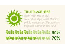 Éléments d'Infographic. Image stock