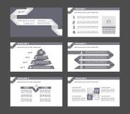 Éléments d'Infographic pour des calibres de présentation illustration stock