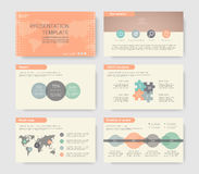 Éléments d'infographics Photos stock