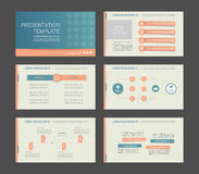 Éléments d'infographics Image stock