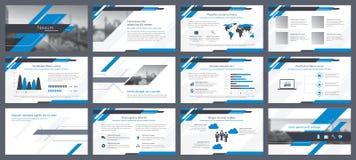 Éléments d'infographics pour des calibres de présentations Photographie stock libre de droits