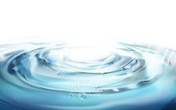 Éléments d'ondulation de l'eau illustration libre de droits