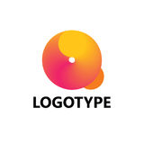 Éléments de calibre de conception d'icône de logo de la lettre Q Photo stock