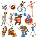 Éléments de cirque Photographie stock