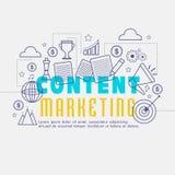 Éléments de commercialisation satisfaits d'Infographic Photo stock