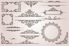Éléments de conception illustration de vecteur