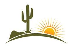 Éléments de conception de désert Images stock