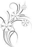 Éléments de conception de Flourish illustration libre de droits
