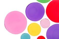 Éléments de conception de forme de cercle Photographie stock libre de droits