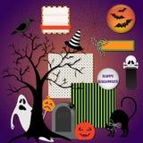 Éléments de conception de Halloween Photos libres de droits