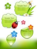 Éléments de conception de source Images stock