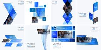 Éléments de conception de vecteur d'affaires pour la disposition graphique Résumé moderne Images libres de droits