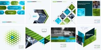 Éléments de conception de vecteur d'affaires pour la disposition graphique Résumé moderne Photographie stock libre de droits